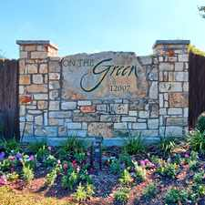 Rental info for On The Green in the Austin area