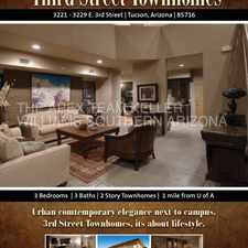 Rental info for URBAN CONTEMPORARY ELEGANCE! Next to UofA. Beautiful home Must SEE!! in the Tucson area