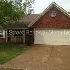 Rental info for 2641 Green Hollow Lane in the Memphis area