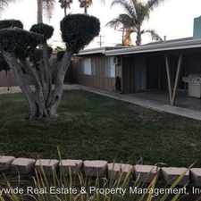 Rental info for 2801 Melbourne Dr. in the San Diego area