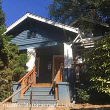 Rental info for 3832-3834 N Albina Ave in the Portland area