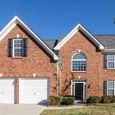 Rental info for 10038 Montrose Drive in the Charlotte area
