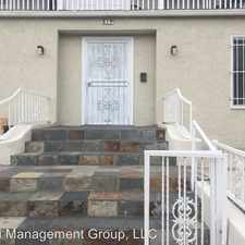 Rental info for 317 Burlington Ave 6 in the Los Angeles area