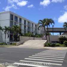 Rental info for 2847 Waialae Ave. #309