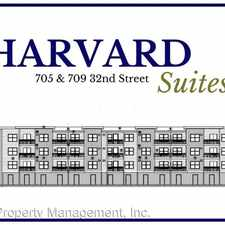 Rental info for 705 & 709 32nd Street