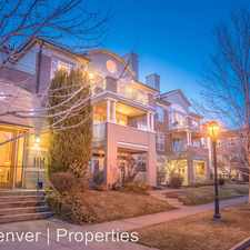 Rental info for 111 S Monroe St Unit 301A in the Denver area