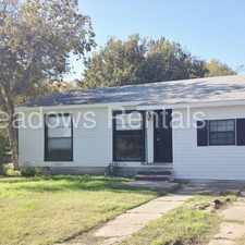 Rental info for 3600 N 22nd in the Waco area