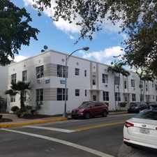 Rental info for 1012 8th Street #8 in the Miami Beach area