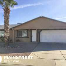 Rental info for Move In Special! in the Phoenix area