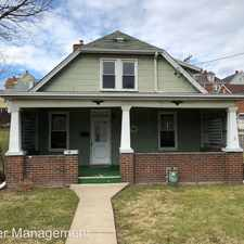 Rental info for 313 E 22nd Ave. in the Pittsburgh area
