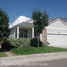 Rental info for 7226 Bentwater Dr. in the Fountain area
