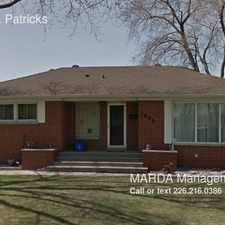 Rental info for 1605 St. Patricks in the South Cameron area