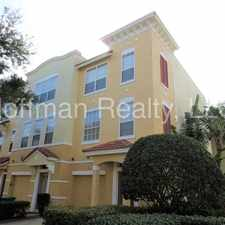 Rental info for South Tampa Townhome in Gated Community in the Tampa area