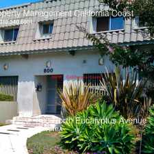 Rental info for 800 North Eucalyptus Avenue in the Los Angeles area