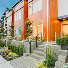 Rental info for ULTRA-MODERN Brand-New Townhome in the Heart of Eastlake! in the Seattle area