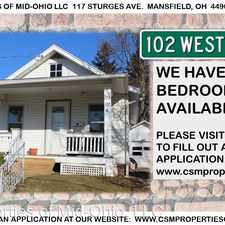 Rental info for 102 W. Raleigh Ave. in the Mansfield area