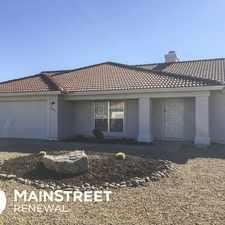 Rental info for 8455 West Caron Drive in the Phoenix area