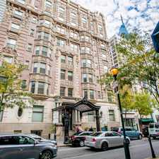 Rental info for 1811 Chestnut Street #706 in the Center City West area