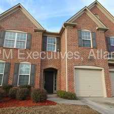 Rental info for Dramatic two-story foyer with sky high ceilings