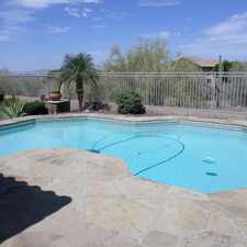Rental info for Beautiful McDowell Mountain Ranch Rental Home in the Scottsdale area