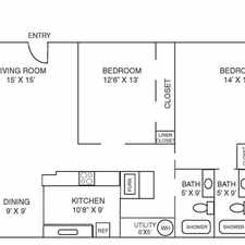 Rental info for Supersized 2 Bedroom Affordable Price in the Downtown area