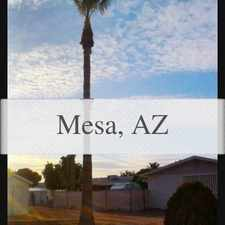 Rental info for This Home Is Handicapped Accessible Throughout. in the Mesa area
