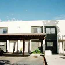Rental info for Custom Remodeled 2 Bedroom Townhome. 1 Mile Fro... in the Phoenix area