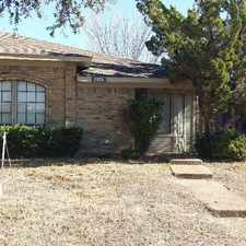 Rental info for 11826 Garden Terrace Drive in the Dallas area