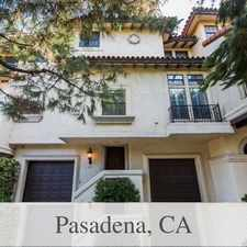 Rental info for 3 Bedrooms Townhouse - Large & Bright in the Pasadena area