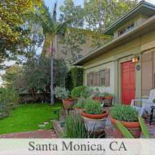 Rental info for 1,500 Sq. Ft. - House - Santa Monica - Come And... in the Los Angeles area