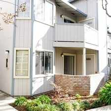 Rental info for Spacious Downstairs Condominium, 1 Car Garage, ... in the San Jose area