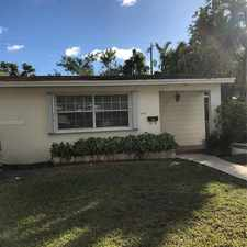 Rental info for 9100 Southwest 29th Terrace in the Westchester area