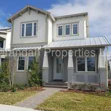 Rental info for Newly Built 3/2.5 +Loft Townhome with 2 Car Garage In Laureate Park at Lake Nona - Orlando in the Orlando area