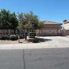 Rental info for 3377 E Derringer Way-Move In Ready! Higley & Pecos! - CALL TODAY! WOW! in the Gilbert area