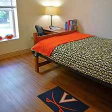 Rental info for UVA On Grounds 1 Bedroom in 4 Bedroom Apartment Faulkner Housing Contract February-May