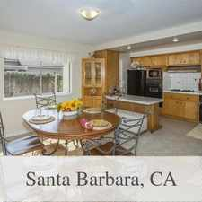 Rental info for Lovely Unfurnished 4 Bedroom Home For Lease Lon... in the Santa Barbara area