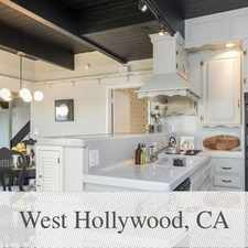 Rental info for West Hollywood - 3bd/3bth 1,784sqft House For Rent in the Los Angeles area