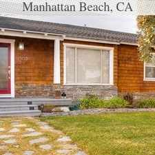 Rental info for 3 Bedrooms House In Manhattan Beach in the Los Angeles area