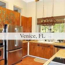 Rental info for 4 Bedrooms House In Venice