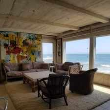 Rental info for Beachfront With Direct Access To The Beach!