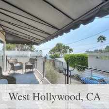 Rental info for 3 Bedrooms House In West Hollywood. Washer/Drye... in the Los Angeles area