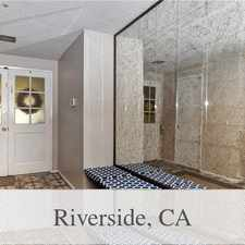 Rental info for Walking Distance To UCR. Washer/Dryer Hookups! in the Riverside area