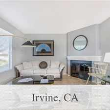 Rental info for 2 Bedrooms House In Irvine in the Irvine area
