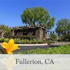 Rental info for Fullerton Is The Place To Be! Come Home Today! in the Fullerton area