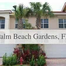 Rental info for Great Central Location 3 Bedroom, 3 Bath. 2 Car... in the Palm Beach Gardens area