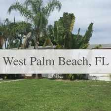 Rental info for West Palm Beach - This Lovely Three Bedroom. in the Riviera Beach area