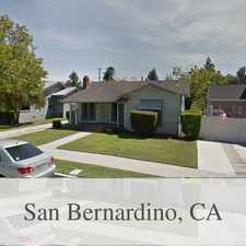 Rental info for San Bernardino, Great Location, 2 Bedroom House... in the Muscupiabe area