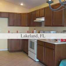 Rental info for House For Rent In LAKELAND.