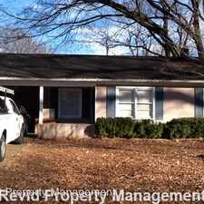Rental info for 1030 Avon Road in the Memphis area