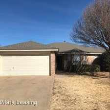 Rental info for 2316 95th Street in the Lubbock area
